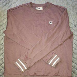Fila Purple Sweatshirt Size L